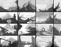 Fast environment composition sketches