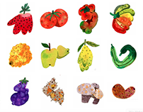 FOOD ILLUSTRATION : spots