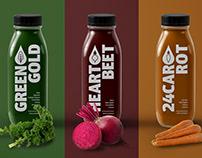 Lake Forest Juice Rebrand