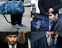 GQ x House of Fraser, Story of the Blues