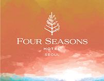Four Seasons Seoul: Commissioned Illustrations
