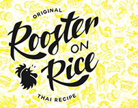 Rooster on Rice Branding - Vietnamese food truck