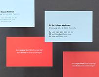 KlausWoltron — Business Card