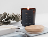 LYYS candle _ branding