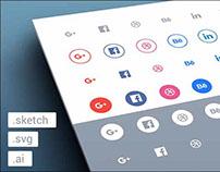 225+ Free social media icons
