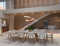 SFN Arquitetura - Sala de Jantar (Casa B220)