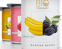 Concept Work for a Yogurt Brand