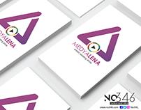 MedyaLena Logo Tasarımı