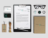 Italian Glasses - Logo Design