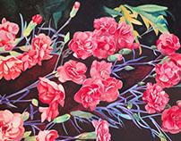 Peintures à  L'aquarelle  :  1995/1997