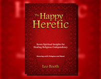 The Happy Heretic Book Cover Design