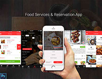 Food Services & Reservation App