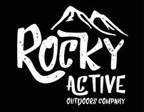 Outdoors company logo design
