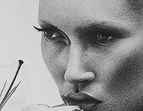 Kate Moss Drawing