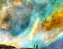 ELIASH STRONGOWSKI - Spacescape collages