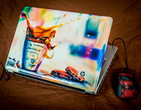 Aerography on laptops and other things