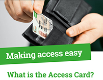 Website for Access Card
