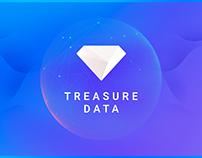 Treasure Data Office Screens Backdrop