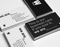 we are_Brand Identity