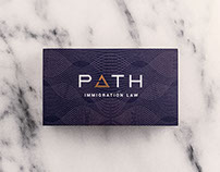 Path Law Logo and Brand Identity