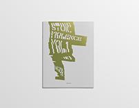 Stoic Violence Vol.1 - Graphic Design book