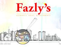 Fazly's Menu Card