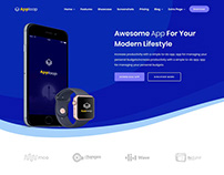 AppLaap | App Landing HTML Template