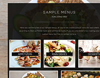 Private Chef Website