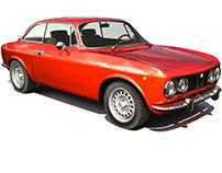 ALFA ROMEO GTV MAYA MODEL