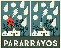 Pararrayos / Show poster