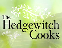 The Hedgewitch Cooks Animated Logo and Title