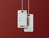 Carnivora // meat shop branding and products