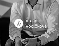 Vraspír & Vodičková (branding, webdesign)