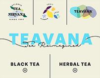 TEAVANA Web Redesign