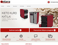 UAB Antara - boiler manufacturer