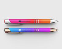 Free pen mockup