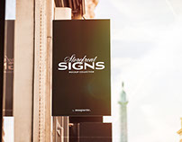 Storefront Signboard PSD Mock up