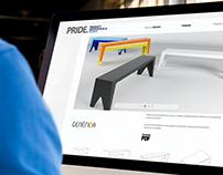 PRIDE: Web design and development