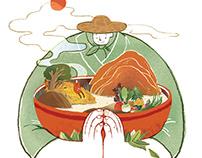 Illustration for T • Pot Magazine