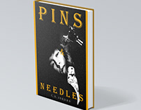 Pins & Needles. Fictional Book Cover
