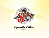Campaña digital cerveza Sol