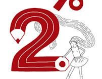 "Illustration ""2 percent"""