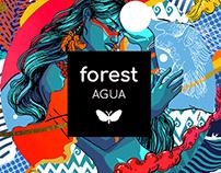 Ilustración - Forest Agua
