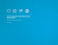 Boulder Food Rescue—Food Waste Audit // Print Design