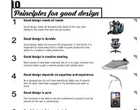 10 Principles For Good Design