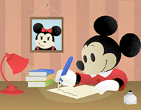 Mickey Mouse - The Writer