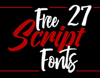 Free Script and Signature Fonts