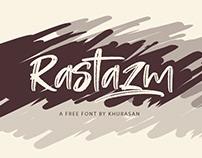 Rastazm Free Font