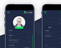 Greensax App Design UI - UX