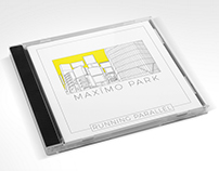 Maxïmo Park Running Parallel CD Cover Design